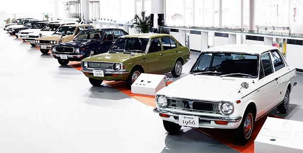 Toyota Corolla đời đầu