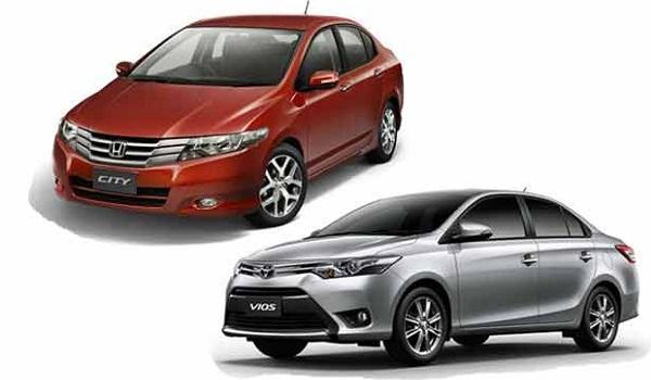 Nên mua Toyota Vios 2017 hay Honda City 2017
