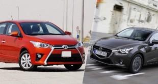 Mazda2 vs yaris 2017