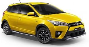 Toyota Yaris TRD 2017 có màu vàng ngoại thất đặc trưng