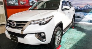 Fortuner thế hệ mới 2017