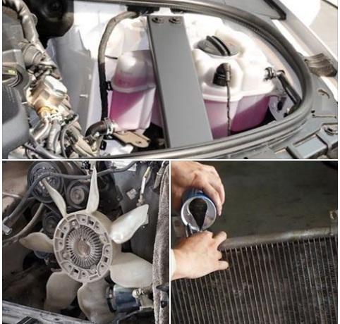 làm mát động cơ ô tô